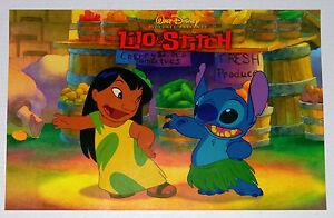 Walt Disney World Eyes And Ears Cast Newspaper Lilo & Stitch 2002