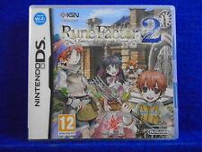 ds RUNE FACTORY 2 A Fantasy Harvest Moon RPG Lite DSi 3DS PAL UK ENGLISH Version