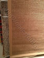 Pottery Barn Color Bound Rug Natural Sisal 5x8 Chino Edge New In Wrapping