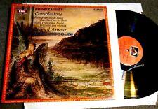 Liszt: Consolations,  Reves D ' Amour, Saint Francois LP STEREO IMPORT Ciccolini
