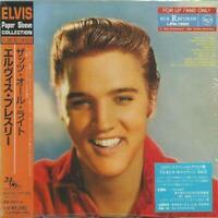 ELVIS PRESLEY - FOR LP FANS ONLY 2001 JAPAN MINI LP CD