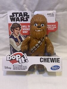 Bop It! Star Wars Chewbacca Chewie Edition Handheld Game NEW Real Han Solo Voice