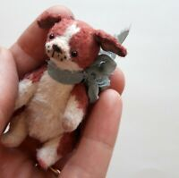 Miniature teddy Little puppy Beagle. Ooak art doll