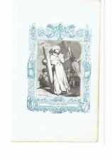 1852 Grabado, San Juan de Mata Fundador Giovanni