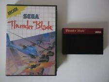THUNDER BLADE - SEGA MASTER SYSTEM
