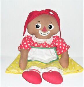 Vintage 1960's Beloved Belindy Black Doll by Knickerbocker, Raggedy Ann's Friend