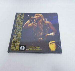 BOOK LIBRO + 4 DVD IRON MAIDEN BRITISH METAL SPECIAL EDITION - NUOVO