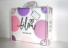 Bilou by Bibi | Geschenkset Koffer Made with Love | Schäume + Pins | vegan