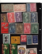 Cinderella  world collection 43 stamps and 59 1939 worlds fair stamps  (mb10