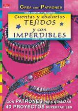 Serie Abalorios nº 12. CUENTAS Y ABALORIOS TEJIDOS Y CON IMPERDIBLES