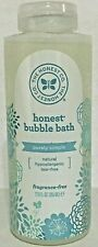 "The Honest Co Bubble Bath ""Purely Simple"" Fragrance-Free 12oz New"
