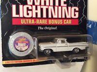 1959 El Camino ultra rare bonus car white Lightning chase JOHNNY LIGHTNING 1/64