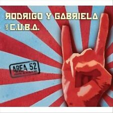 Area 52 [Digipak] by C.U.B.A./Rodrigo y Gabriela CD BRAND NEW SEALED