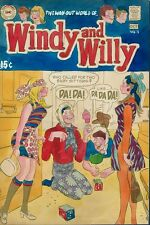 Windy and Willy 3 ORIGINAL COVER PAINTING GGA Adler Pedigree Color Art Headlight