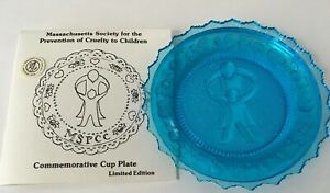 Massachusetts Soc for the Prevention of Cruelty to Children Pairpoint Cup Plate
