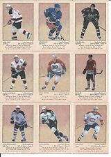 2002-03 PARKHURST RETRO Hockey complete your set 20 card lot, stars included!