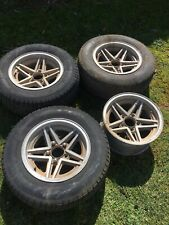 Cheviot Rebel style 14 x 7s  Suit Ford Falcon Old School Hotrod Wheels