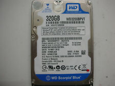 "WD Scorpio Blue 320gb WD3200BPVT-00ZEST0 2061-771672-R04 01P 2,5 "" SATA"