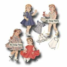 "Littlest Angel Vtg Doll Clothes Pattern Formal Dress ~ 10/"" 11/"" Tiny Terri Lee"
