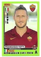 CALCIATORI PANINI 2014 15 - N.414 FRANCESCO TOTTI ROMA NEW MINT