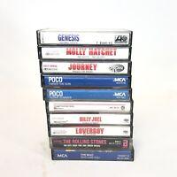 Classic Rock Cassette Tape Lot