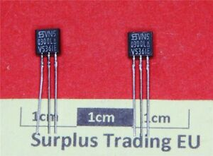 Siliconix VN50300L N-Channel MOSFET 0.033A 500V TO-92