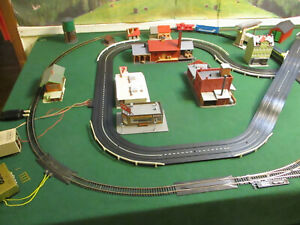 AURORA MoDEL MoToRING T Jet Slot Atlas Tyco Road & Rail Train Track Car Set