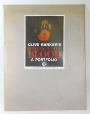 Clive Barker's Books of Blood Portfolio (LIMITED #288 of 1,000) RARE - VG+