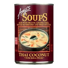 Amy's Organic Thai Coconut Soup 14.5 oz ( Pack of 6 ) ~ FREE 2-3 DAYS SHIPPING