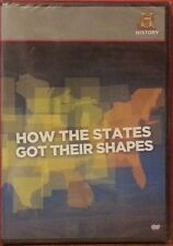 HOW THE STATES GOT THEIR SHAPES (DVD 2010 HISTORY) BRAND NEW