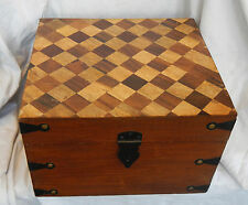Large Sturdy Wooden Storage Box / Chest / Memory Box - NEW