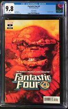 Fantastic Four #6 CGC 9.8 1:50 Incentive Sienkiewicz The Thing Variant Cover!