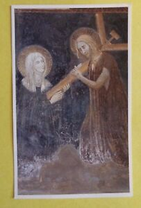 Saint Clare of Montefalco Color Prayer Card, From Italy