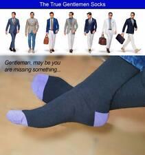 Men Black Socks 12 Pack Rich Cotton Luxury Design Socks  Size 6 to 11