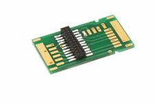 Adapterplatine für PluX 8, 12, 16, 22 Decoder mit Buchse - 17,15 x 30,16 mm