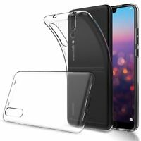 Ragetorc Huawei P20 Case Transparent Crystal Clear Case Gel TPU Soft Cover Skin