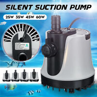 Submersible Water Pump Garden Fish Pond Aquarium Tank Filter Feature Fountain