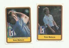 Tom Watson  2 Golf Card Lot - Donruss