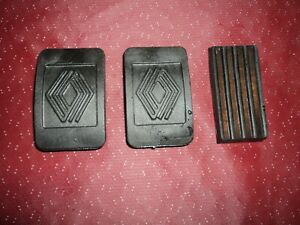 1969 85  Renault 4 5 6 8 10 12 15 16 17 Brake Clutch Gas Pedal Pad Set