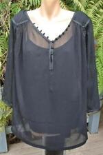 Autograph Polyester 3/4 Sleeve Regular Tops & Blouses for Women
