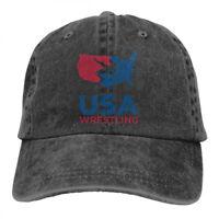 USA Wrestling cowboys Adjustable Cap Snapback Baseball Hat