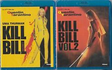 [2 Blu-ray]  Kill Bill - volume 1 & 2  [Films de Quentin Tarantino] NEUFS cello.