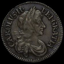 More details for 1679 charles ii early milled silver maundy threepence