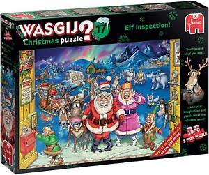Jumbo Games Wasgij 17 1000 Piece Jigsaw - Elf Inspection
