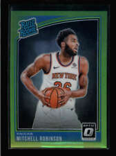 MITCHELL ROBINSON 2018/19 DONRUSS OPTIC #163 RATED ROOKIE NEON GREEN /149 AY5440