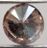 0.6 Ct. Rare Brown Color Round I1 Clarity Natural Loose Diamond