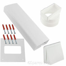 HOTPOINT & INDESIT Tumble Dryer  Wall Vent Kit - Brick Size Ducting For Ease.
