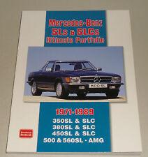 Bildband Ultimate Portfolio Mercedes R107 350 / 380 / 450 / 500 / 560 SL + SLC
