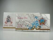 *** RUSSLAND Rubel KMS 1995 BU 50 Jahre Kriegsende Kursmünzensatz kein Euro ***