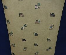 Country Houses Barn Churches Wallpaper #JN1705 (Lot of 7 Double Rolls)